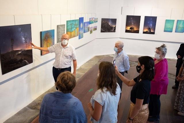 En Lanzarote exposición sobre los cielos de la Reserva Starlight de Fuerteventura abre sus puertas hasta el 15 de octubre
