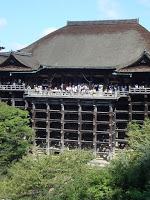 la facciata del Kiyomizu