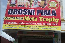 Lowongan Kerja Padang: Grosir Piala Meta Trophy April 2018