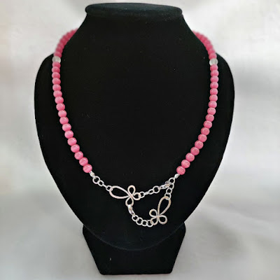 Cat Eye Face Mask / Eyeglasses Chain as Necklace