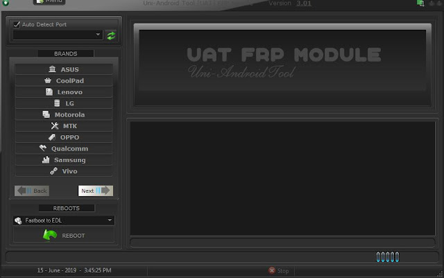 UAT (Uni Android Tool) Frp Module v3.01 Crack Setup +Loader Download Free
