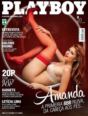 baixar Revista Playboy   Amanda Gontijo do BBB14   Maio 2014 download