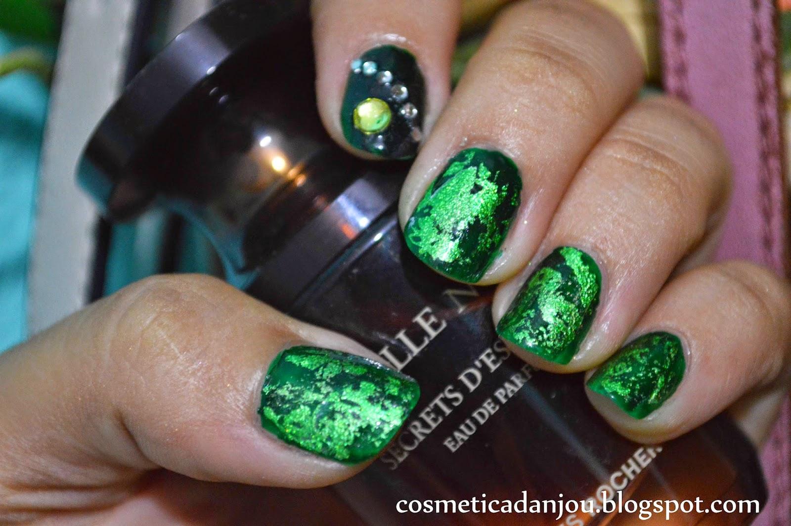 Cosmética d Anjou: Holo Nail Art Foil Glitter Transfer Stickers ...