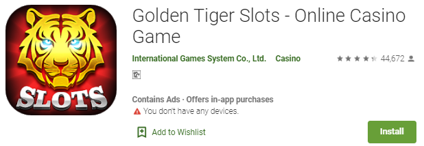 Cara Menang Bermain Game Golden Tiger Slots - Online Casino Games