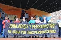 Concentración de jubilados