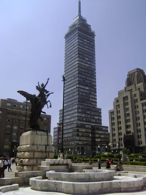 Torre Latinoamericana. Centro Historico de la Ciudad de Mexico