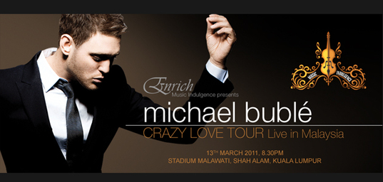 Michael Buble Live In Malaysia