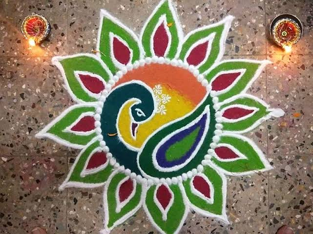 diwali rangoli designs images