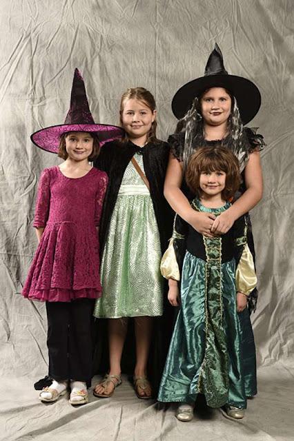 Fotos de disfraz casero de bruja