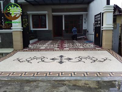 Contoh Penerapan Lantai Carport