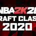 NBA 2K20 Draft Class 2020 by Shuajota and Unique Mazique