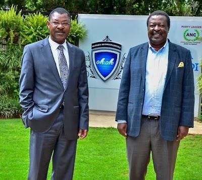 Moses Wetangula agree to unite Luhya votes