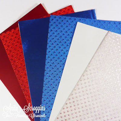 Patriotic Foiled Papers