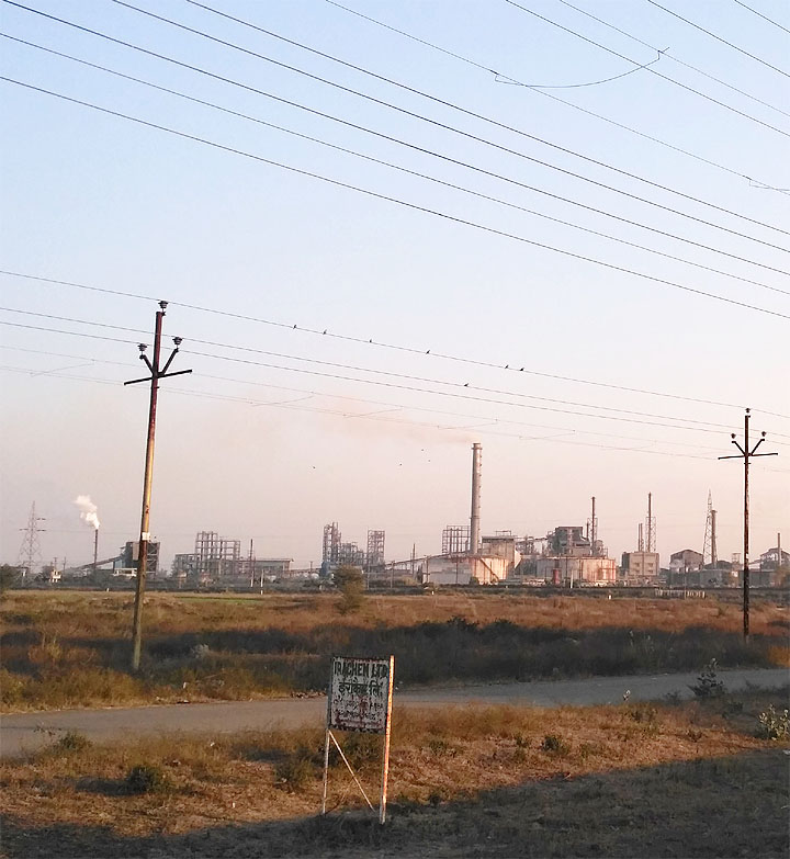 pollution in gajraula city