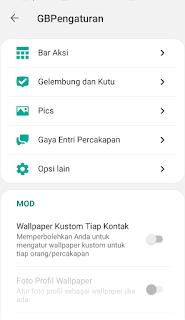 Cara Mengganti Tanda Centang dengan Icon Lain di GB Whatsapp