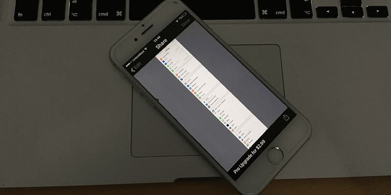 take scrolling screenshot on iphone