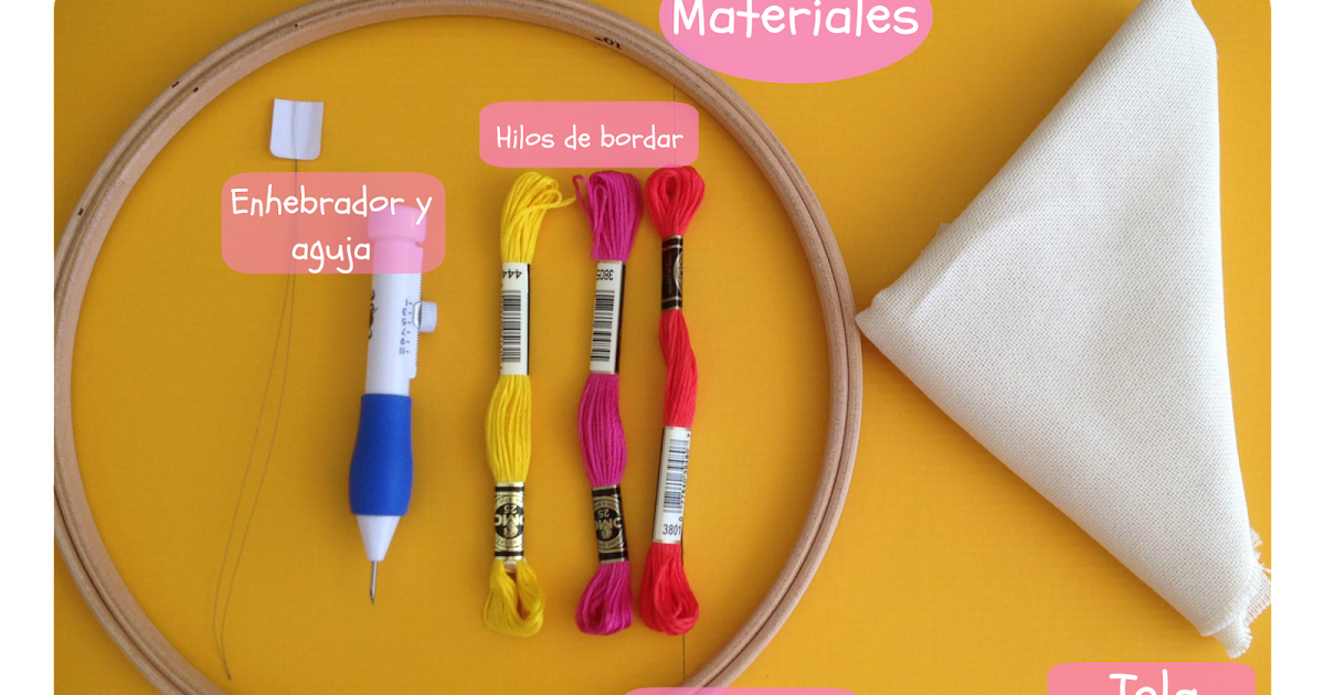 Monkey craft c mo hacer bordado m gico for Como hacer alfombras en bordado chino