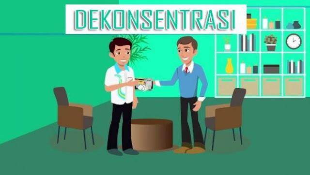 Pengertian Dekonsentrasi