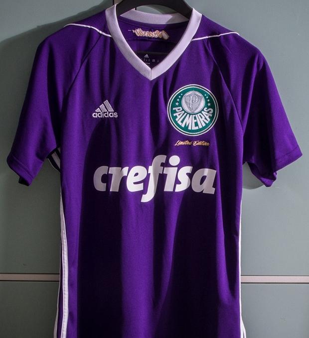32c648ab50 Adidas lança nova camisa de goleiro para o Palmeiras - Show de Camisas