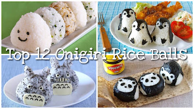 Top 12 Onigiri Rice Balls