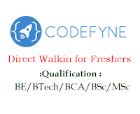 Codefyne-Software-walkin-freshers