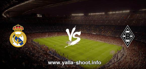 نتيجة مباراة ريال مدريد وبوروسيا مونشنغلادباخ اليوم الثلاثاء 27-10-2020 يلا شوت الجديد في دوري أبطال أوروبا