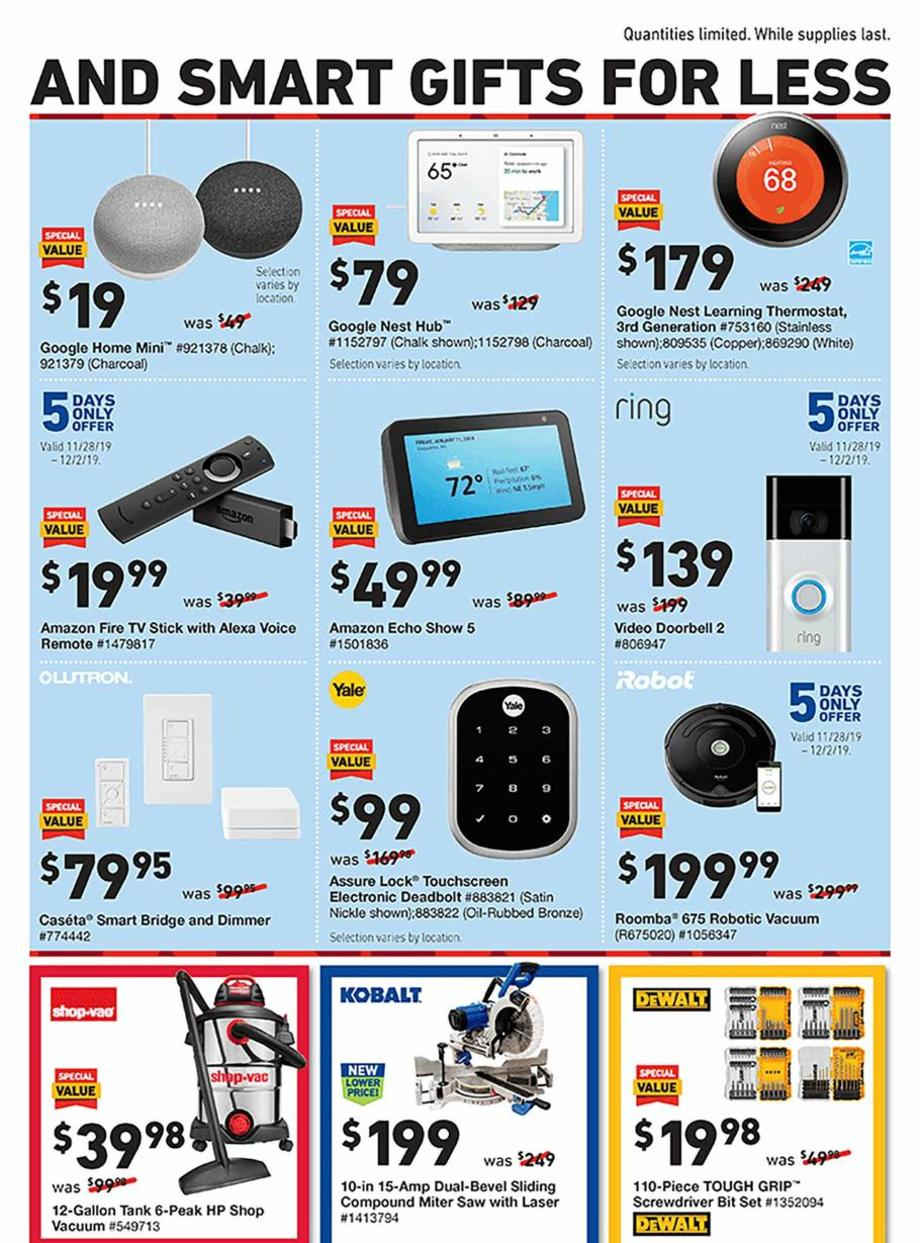 Lowes Black Friday 2019  Page 3