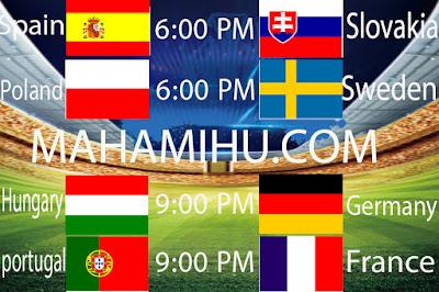 Euro-2021-بث مباشر-لمباريات-اليوم-الأربعاء-23,6,2021-لبطولة-كأس-الأمم-الأوروبية