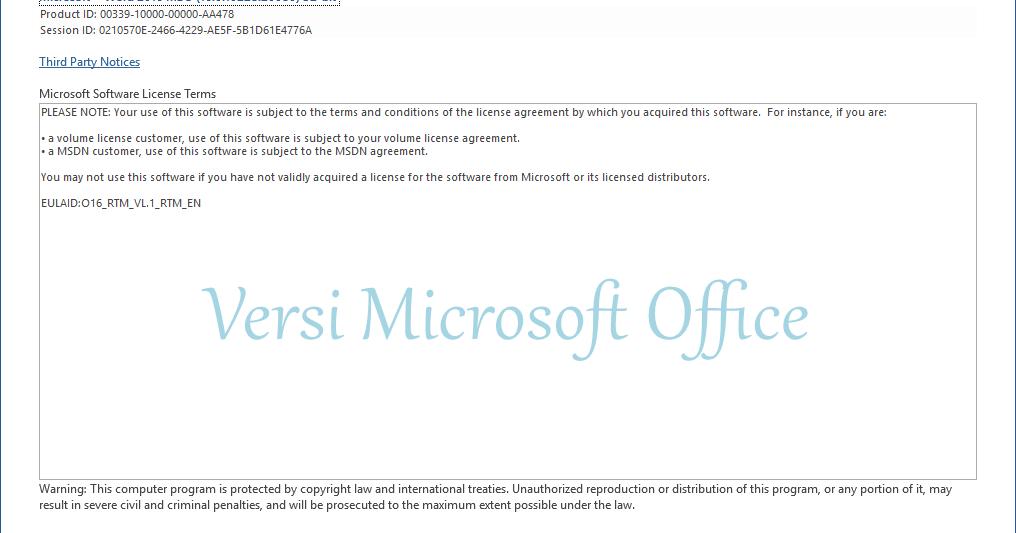 Cara Mengetahui Versi Microsoft Office di Laptop (Akurat