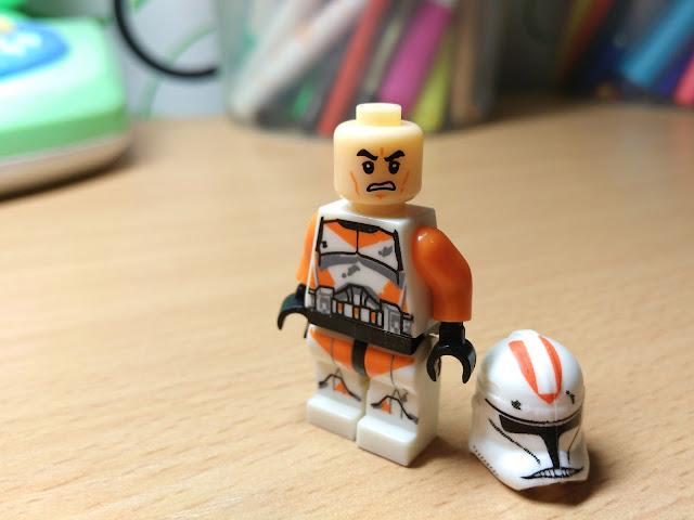 Фигурка лего клон второй фазы оранжевый батальон купить