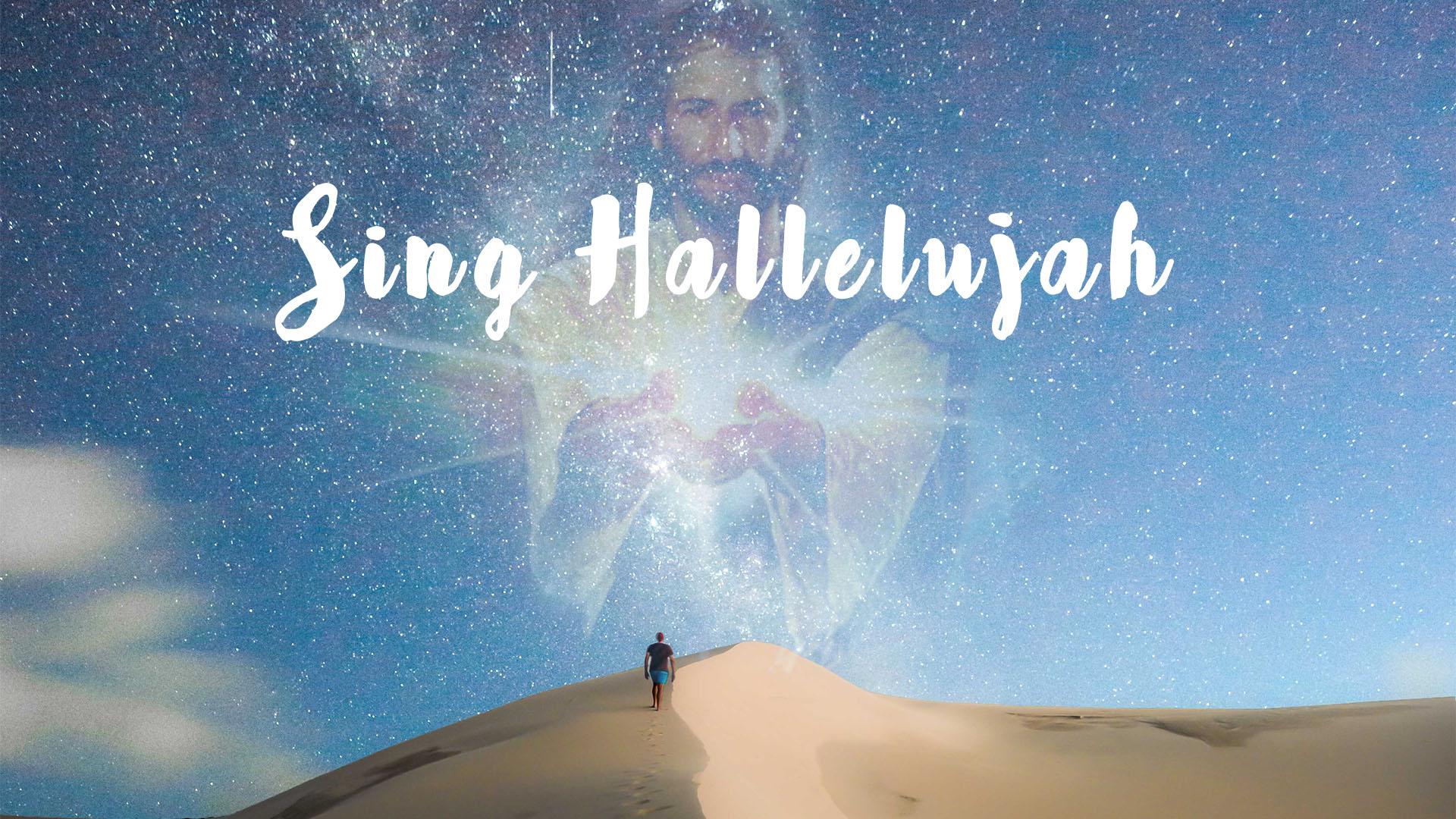 Jesus Appears in Man Sing Hallelujah