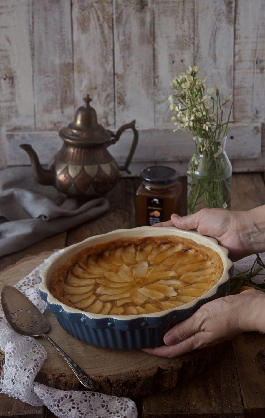 tarta-de-manzana-clasica-sin-huevo