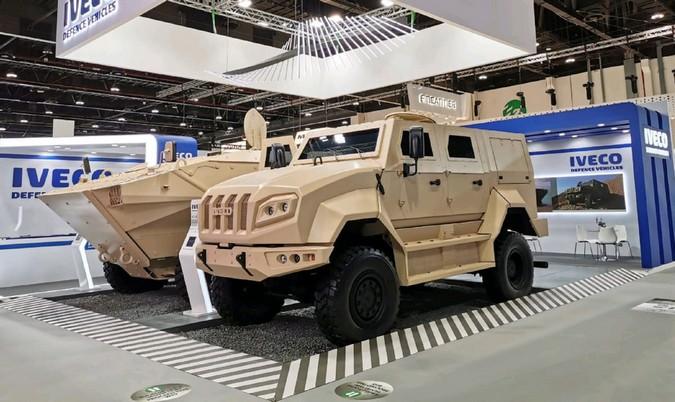 Iveco Defence Vehicles participa da IDEX 2021 com novidades no portfólio