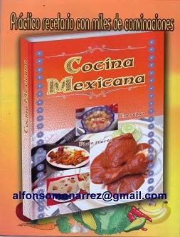 LIBROS COCINA MEXICANA Recetas