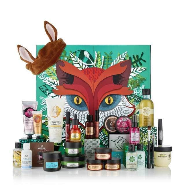 Calendario de Adviento de Belleza de The Body Shop 2018
