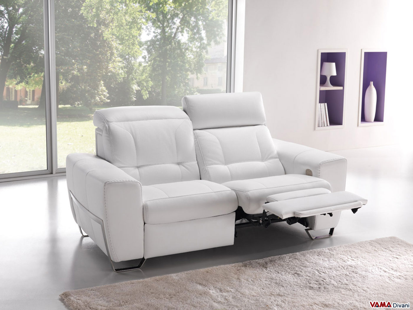 Vama divani blog divano relax l 39 accattivante stile for Divano elettrico
