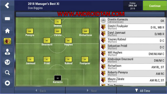 Football Manager Mobile 2018 Apk Android Terbaru