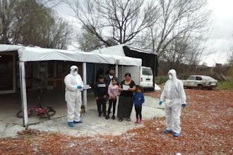 Κλιμάκιο του Κοινωνικού Ιατρείου του Δήμου Καστοριάς στον καταυλισμό Ρομά
