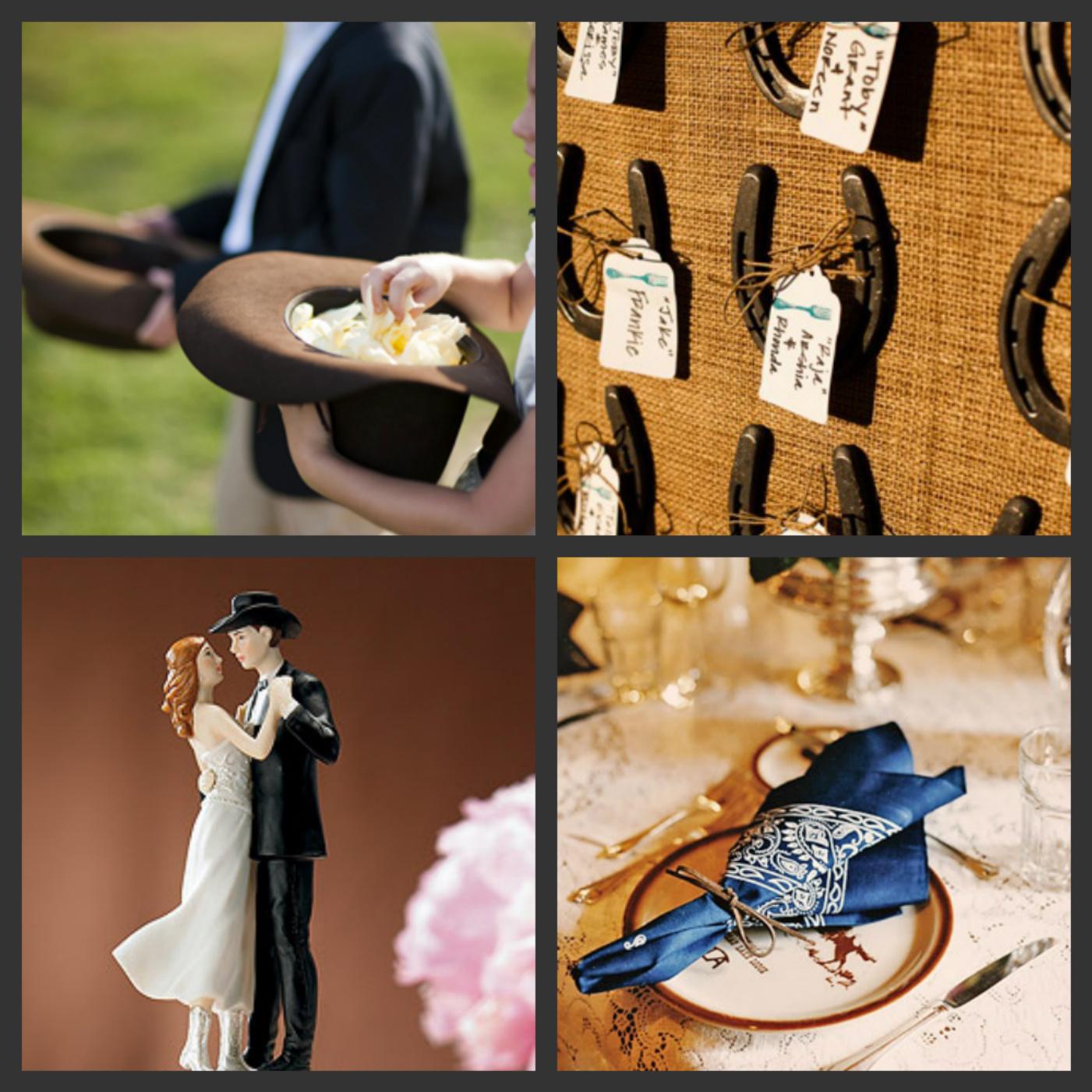 Weddings Are Fun Blog Western Themed Wedding for Cowgirl