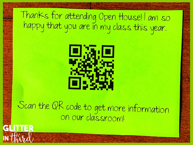Open House school ideas for teachers