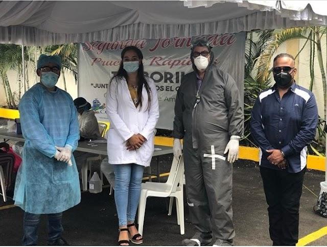 Se disparan en un 100% los casos de COVID-19  en Tamboril, según Salud Dominicana