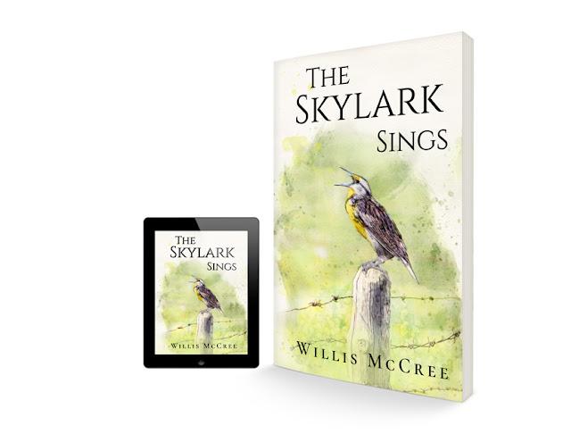 The Skylark Sings / Book Cover Design