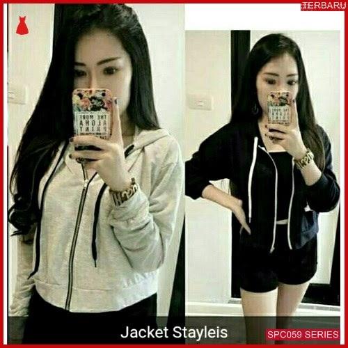 SCP059J49 Jacket Stayleis Babyterry Outerwear Wanita | BMGShop