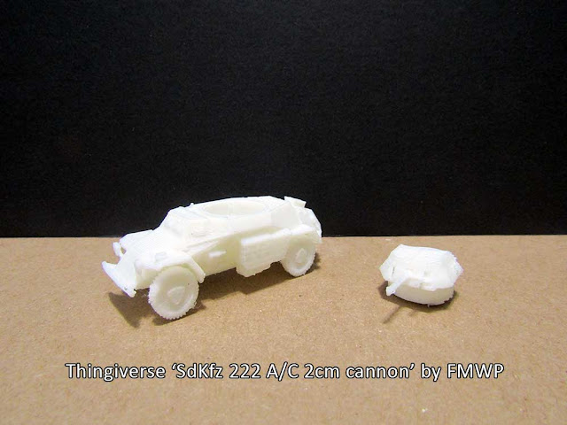 1/72 scale Sd.Kfz. 222