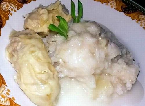 Resep Ketan Durian Lumer Enak