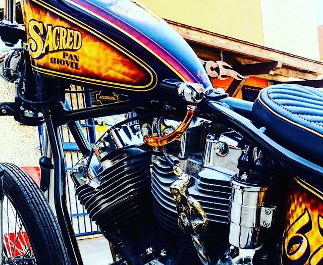 Harley Davidson Shovelhead 1967 By Boccin Custom Cycles Hell Kustom