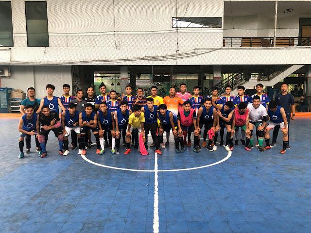 Ukur Kekuatan, PS PALI Cukur Team USU 5-1