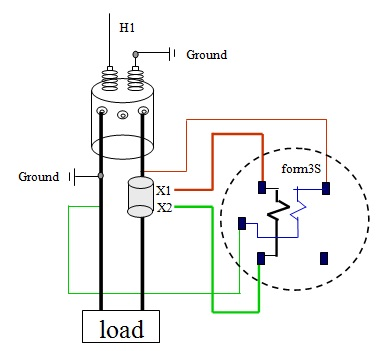 single phase kwh meter wiring diagram 2005 big dog bulldog power systems loss: kwhr meters forms 1, 2, 3, & 4 for different transformer configurations part1
