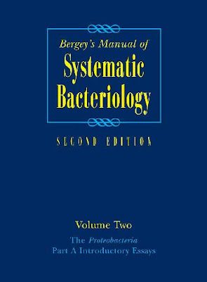 Manual of Systematic Bacteriology