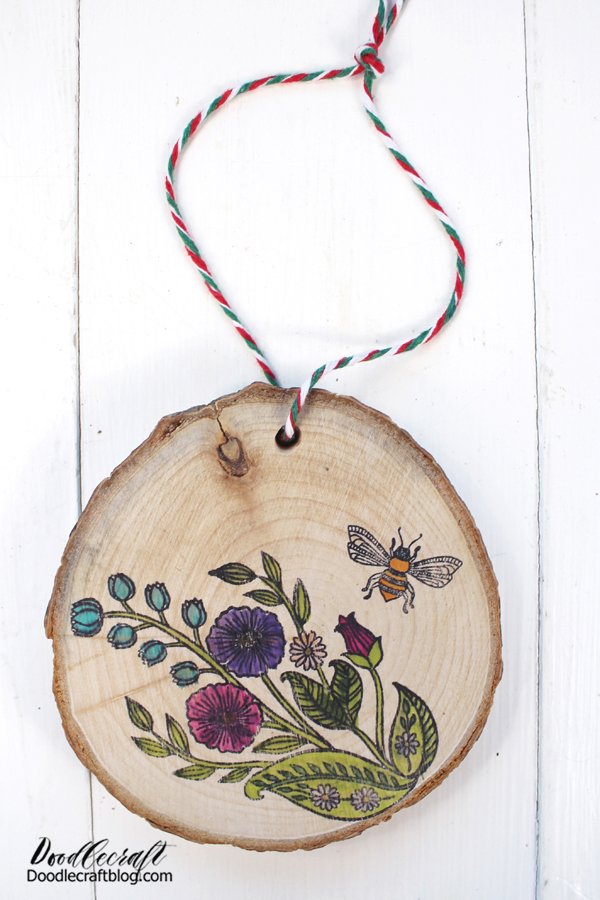 Make darling wood slice ornaments using stamps and ABT PRO Markers for the holidays. Share them and tag @tombowusa and @doodlecraft so we can cheer you on!